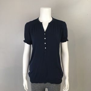 Pure Alfred Sung Blue Shirt